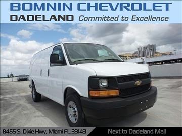 2017 Chevrolet Express Cargo for sale in Miami, FL