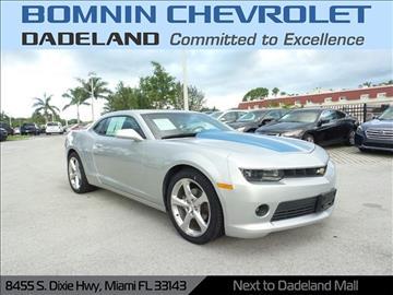 2014 Chevrolet Camaro For Sale  Carsforsalecom