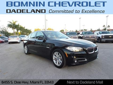 2016 BMW 5 Series for sale in Miami, FL