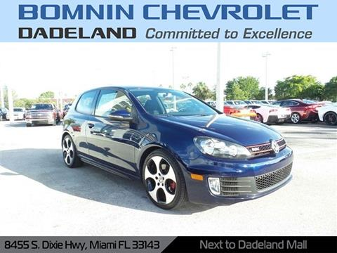 2012 Volkswagen GTI for sale in Miami, FL