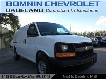 2017 Chevrolet Express Cargo for sale in Miami, FL