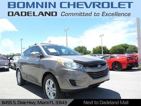 2012 Hyundai Tucson for sale in Miami, FL