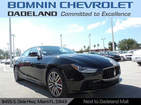 2015 Maserati Ghibli for sale in Miami, FL