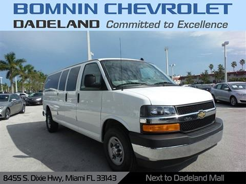 2017 Chevrolet Express Passenger for sale in Miami, FL
