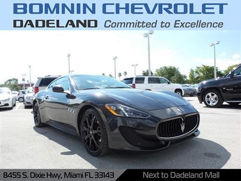2014 Maserati GranTurismo for sale in Miami, FL