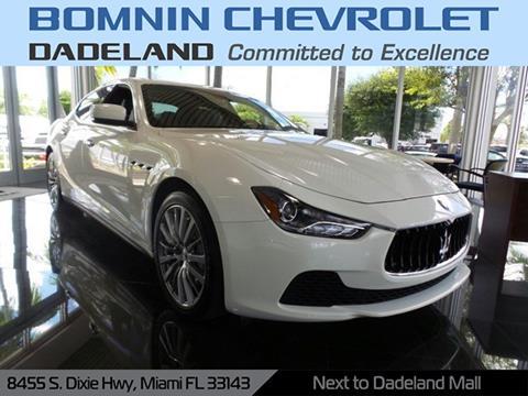 2014 Maserati Ghibli for sale in Miami, FL