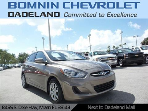 2014 Hyundai Accent for sale in Miami, FL