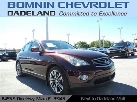 2011 Infiniti EX35 for sale in Miami, FL