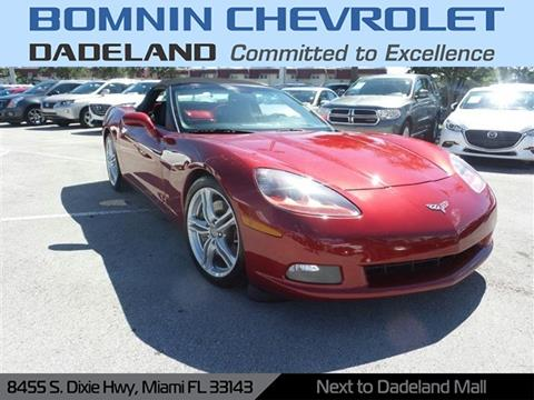 2008 Corvette For Sale >> 2008 Chevrolet Corvette For Sale In Miami Fl