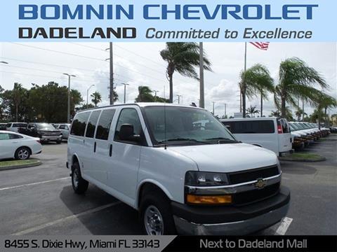 2018 Chevrolet Express Passenger for sale in Miami, FL