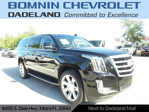 2019 Cadillac Escalade ESV for sale in Miami, FL