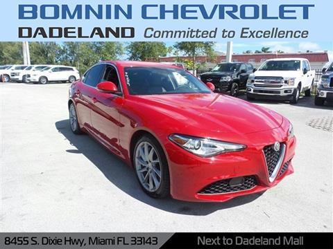 2017 Alfa Romeo Giulia for sale in Miami, FL