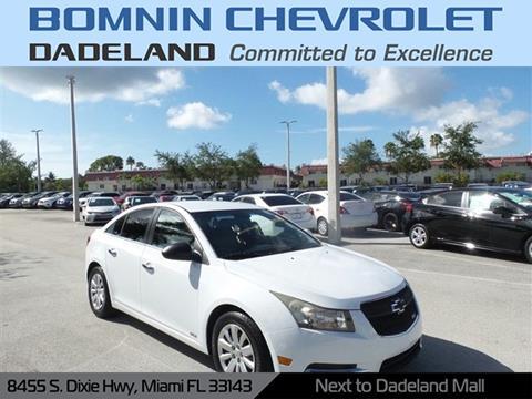 2011 Chevrolet Cruze for sale in Miami, FL