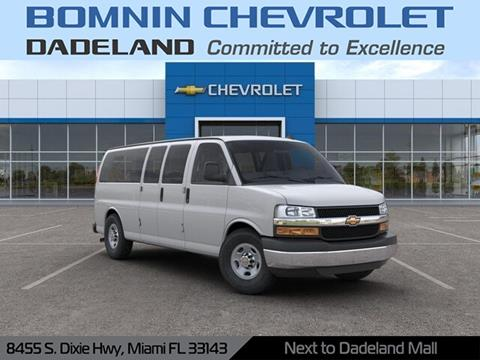 2019 Chevrolet Express Passenger for sale in Miami, FL