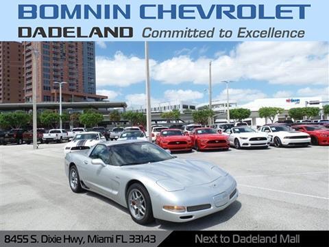 Bomnin Chevrolet Dadeland >> Used 2003 Chevrolet Corvette For Sale in Andalusia, AL