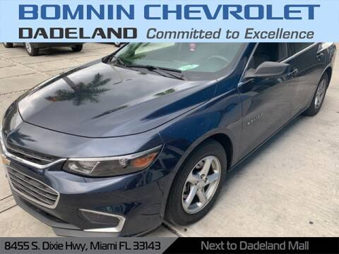 2017 Chevrolet Malibu LS for sale at Bomnin Chevrolet Dadeland in Miami FL