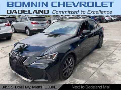 2017 Lexus IS 200t for sale at Bomnin Chevrolet Dadeland in Miami FL