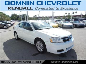 2013 Dodge Avenger for sale in Miami, FL