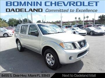 2008 Nissan Pathfinder for sale in Miami, FL