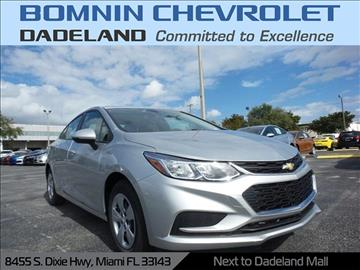 2017 Chevrolet Cruze for sale in Miami, FL
