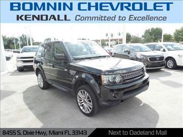 2013 Land Rover Range Rover Sport for sale in Miami, FL