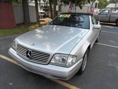 1997 Mercedes-Benz SL-Class for sale at AMERI-CAR & TRUCK SALES INC in Haskell NJ