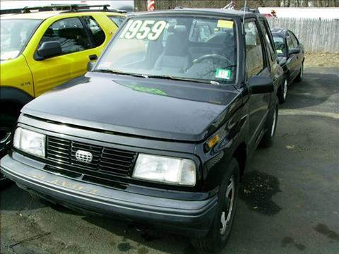1995 GEO Tracker for sale at AMERI-CAR & TRUCK SALES INC in Haskell NJ