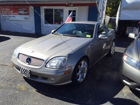 2004 Mercedes-Benz SLK-Class for sale at AMERI-CAR & TRUCK SALES INC in Haskell NJ