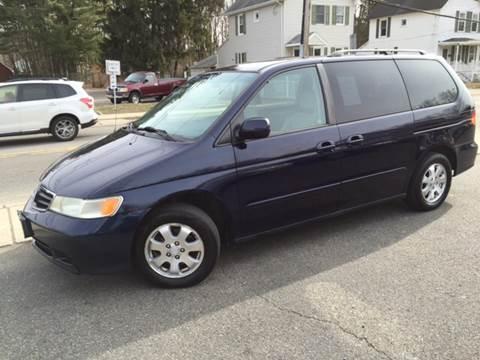 2004 Honda Odyssey for sale at AMERI-CAR & TRUCK SALES INC in Haskell NJ