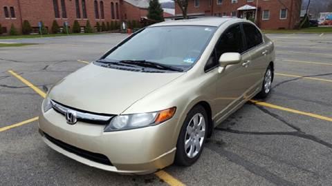 2007 Honda Civic for sale at AMERI-CAR & TRUCK SALES INC in Haskell NJ