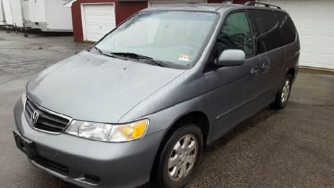 2002 Honda Odyssey for sale at AMERI-CAR & TRUCK SALES INC in Haskell NJ