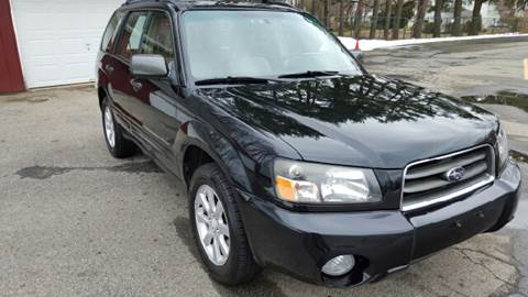 2005 Subaru Forester for sale at AMERI-CAR & TRUCK SALES INC in Haskell NJ