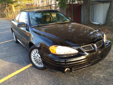 2001 Pontiac Grand Am for sale at AMERI-CAR & TRUCK SALES INC in Haskell NJ