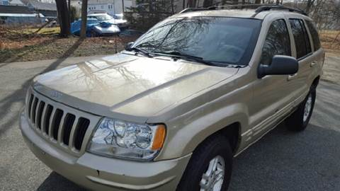 2000 Jeep Grand Cherokee for sale at AMERI-CAR & TRUCK SALES INC in Haskell NJ