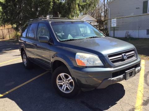 2005 Honda Pilot for sale at AMERI-CAR & TRUCK SALES INC in Haskell NJ