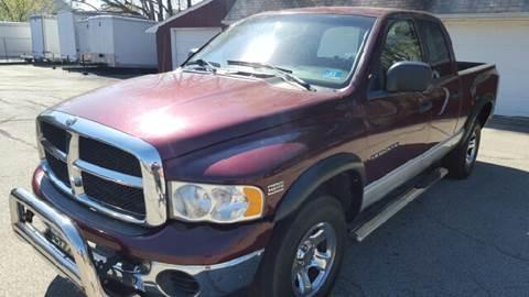 2003 Dodge Ram Pickup 1500 for sale at AMERI-CAR & TRUCK SALES INC in Haskell NJ