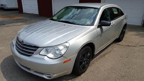 2007 Chrysler Sebring for sale at AMERI-CAR & TRUCK SALES INC in Haskell NJ