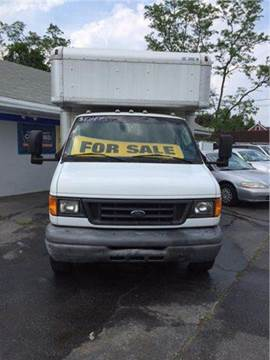 2006 Ford E-450 14 Ft Box Truck for sale at AMERI-CAR & TRUCK SALES INC in Haskell NJ