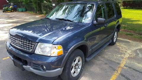2003 Ford Explorer for sale at AMERI-CAR & TRUCK SALES INC in Haskell NJ