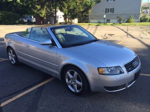 2004 Audi A4 for sale at AMERI-CAR & TRUCK SALES INC in Haskell NJ