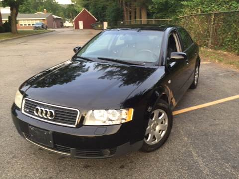 2002 Audi A4 for sale at AMERI-CAR & TRUCK SALES INC in Haskell NJ