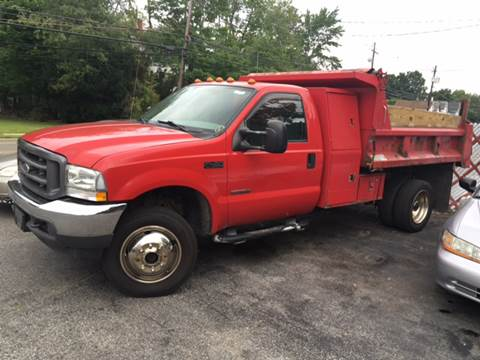 2004 Ford F-450  4X4 for sale at AMERI-CAR & TRUCK SALES INC in Haskell NJ