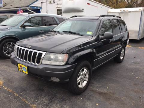 2002 Jeep Grand Cherokee for sale at AMERI-CAR & TRUCK SALES INC in Haskell NJ