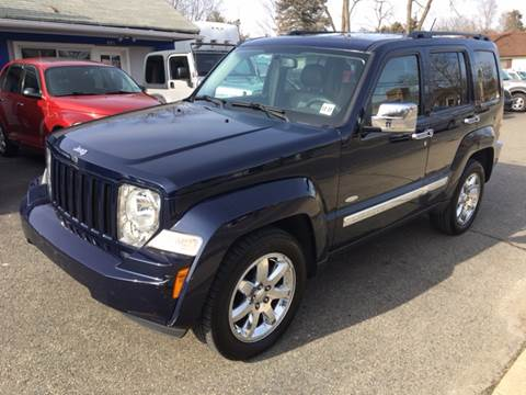 2012 Jeep Liberty for sale at AMERI-CAR & TRUCK SALES INC in Haskell NJ