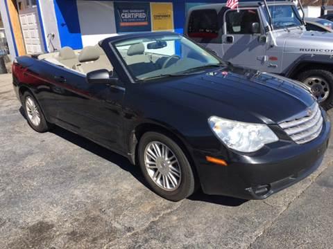 2008 Chrysler Sebring for sale at AMERI-CAR & TRUCK SALES INC in Haskell NJ
