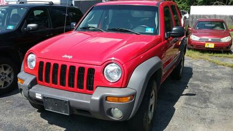 2002 Jeep Liberty for sale at AMERI-CAR & TRUCK SALES INC in Haskell NJ