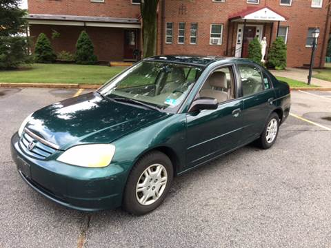 2001 Honda Civic for sale at AMERI-CAR & TRUCK SALES INC in Haskell NJ