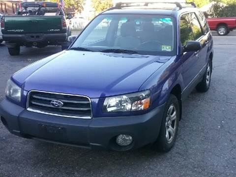 2003 Subaru Forester for sale at AMERI-CAR & TRUCK SALES INC in Haskell NJ