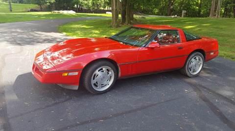 1989 Chevrolet Corvette for sale at AMERI-CAR & TRUCK SALES INC in Haskell NJ