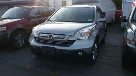 2008 Honda CR-V for sale at AMERI-CAR & TRUCK SALES INC in Haskell NJ